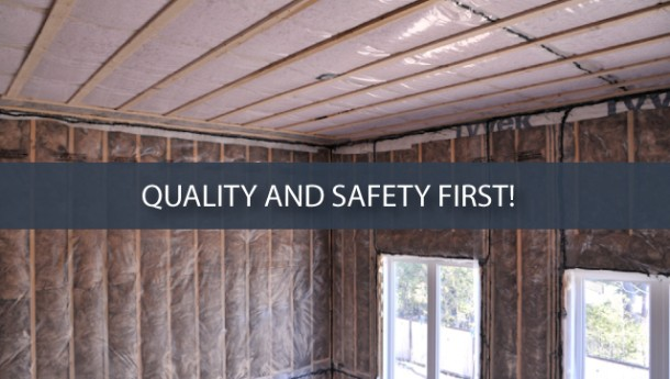 Paul Cuerrier Insulation - Quality and Safety First